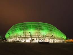 Codina Architectural Budapest Stadium Metal Mesh