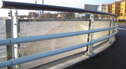 Codina Architectural Munksjo JOenkoeping Bridge Metal Mesh