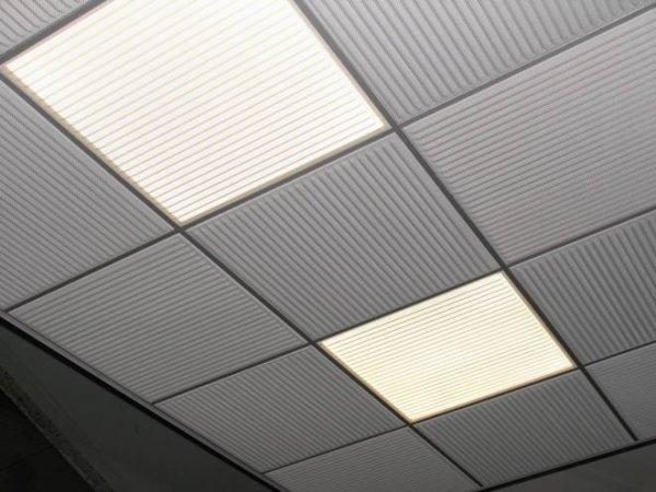 Plafonds Deckmetal Avec Luminaires Et Plafonniers 224 Leds