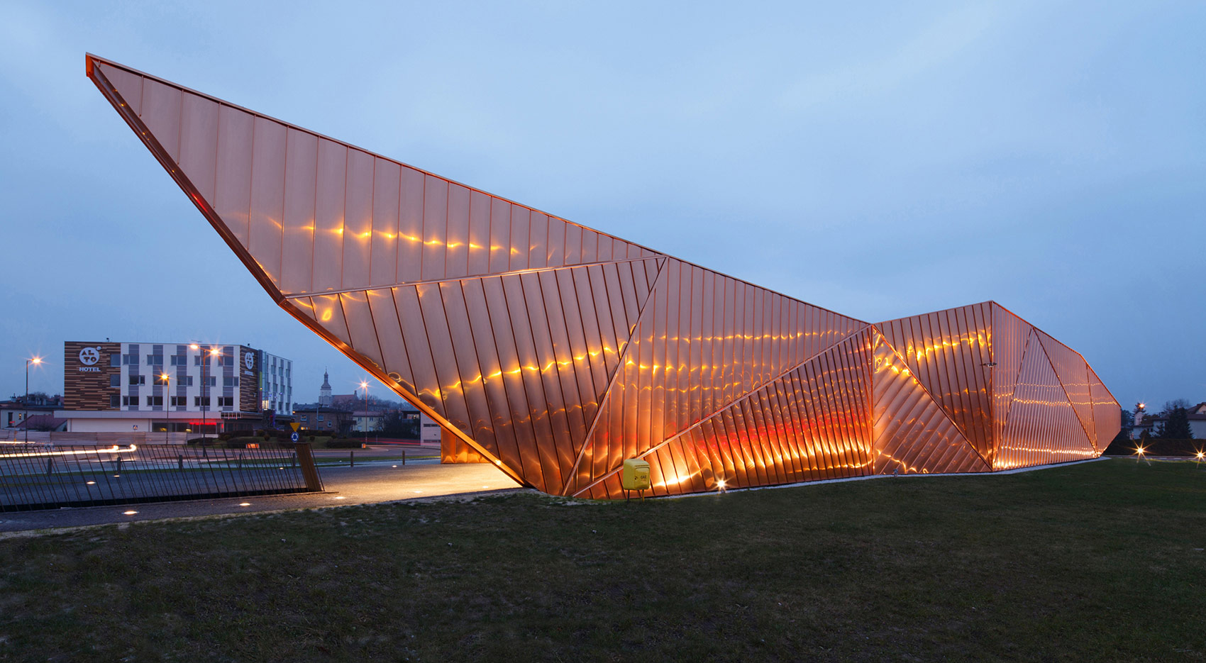 Żory (Poland) unveils its Museum of Fire blog Codina Architectural