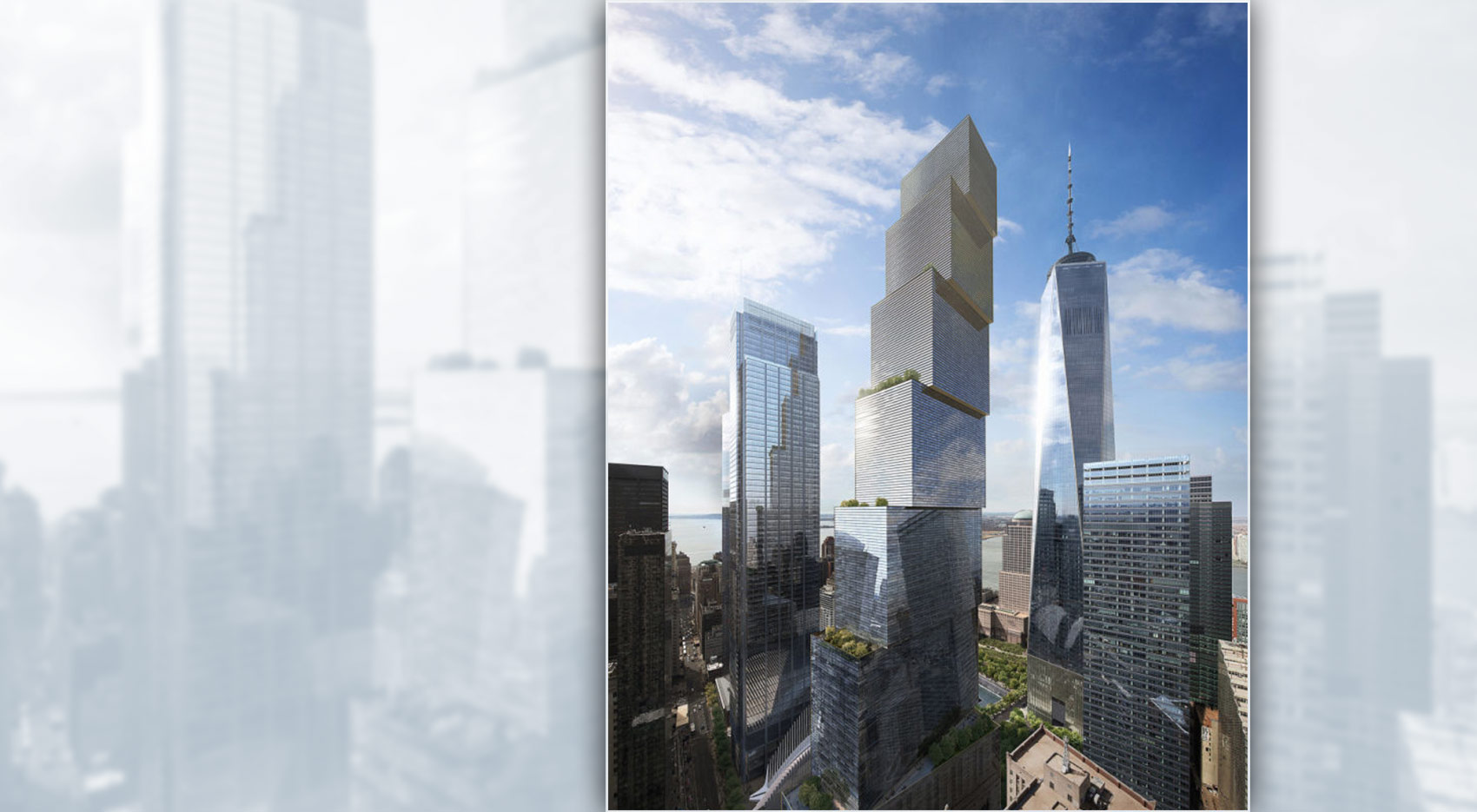 ingels tower by Bjarke Ingels to 2WTC blog Codina Architectural