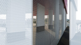 Codina Architectural Offices in Valence Metal Mesh