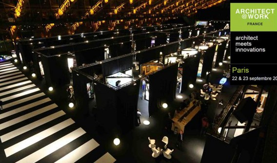 general view from Architect&Work exhibition in Paris