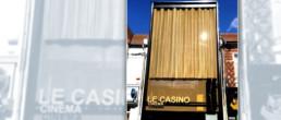 facade with Codina architectural meshes of cinema Le Casino
