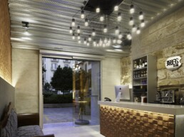 Codina Architectural Barber Shop Mallorca Metal Mesh