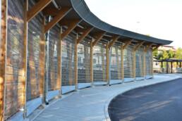Codina Architectural Bike Hotel Metal Mesh