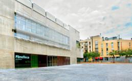 Codina Architectural Filmoteca de Catalunya metal mesh