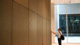 Codina Architectural Rothschild Bank Lobby metal mesh