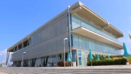 Codina Architectural Terminal Marítima Balearia metal mesh