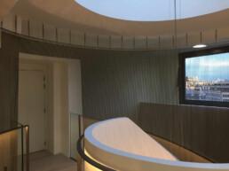 Codina Architectural Starir case Kleber Metal Mesh