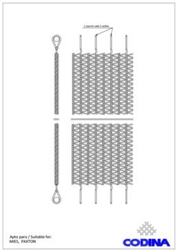 Codina Architectural tf-10 Metal Mesh