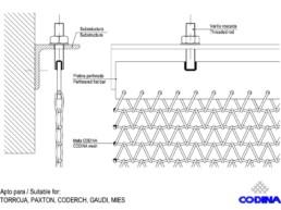 Codina Architectural TF-20 Metal Mesh