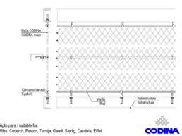 Codina Architectural TF-60 Metal Mesh
