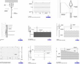 Codina Architectural Fastening Techniques Metal Mesh