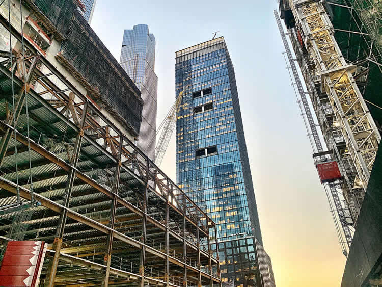 55 Hudson Yards with PAXTON wire mesh