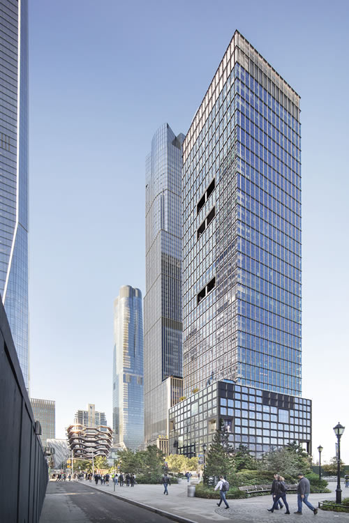 55 Hudson Yards a project with PAXTON architectural mesh
