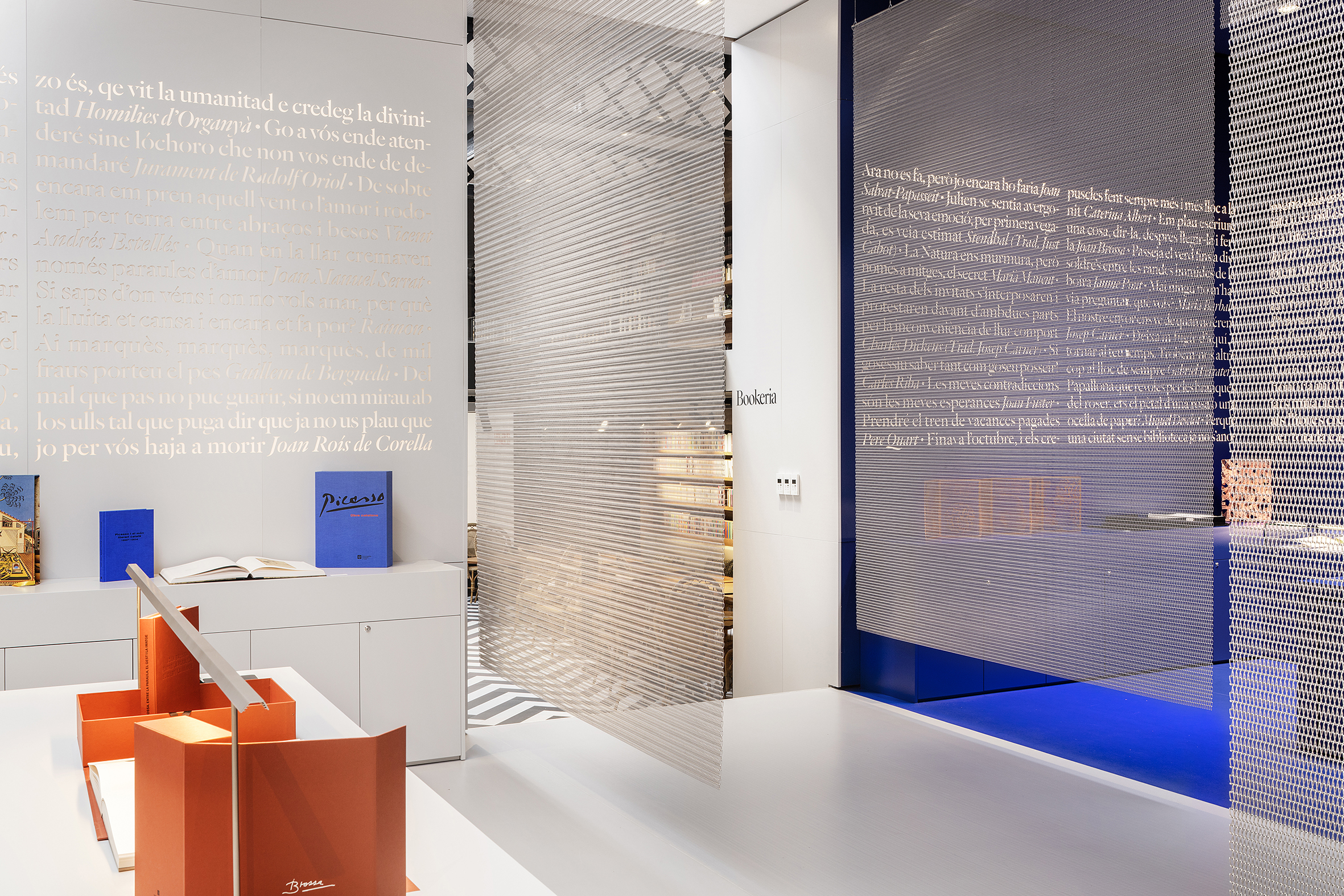 Ona BookStore Codina Architectural Metal Mesh