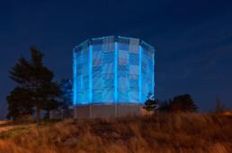 Codina Architectural Metal Mesh Vattentornet Västervik, SWECO