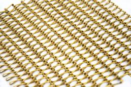 Codina Architectural Metal Mesh Mies R Brass