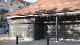 Codina Architectural Halle Carnot metal mesh