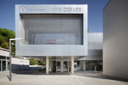 Médiathèque Aimé Césaire Codina Architectural metal mesh