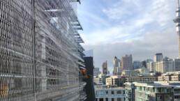 Parking Wynyard 100 Codina Architectural metal mesh